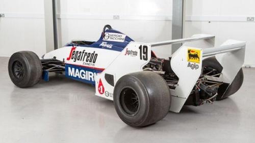 Toleman de Ayrton Senna está à venda no Reino Unido