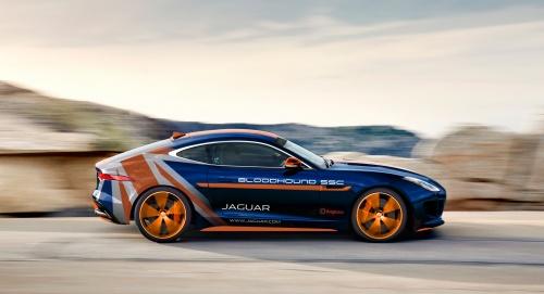 Jaguar irá apresentar F-TYPE Bloodhound no MotoFest