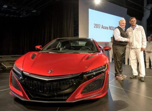 Primeiro Acura/Honda NSX 2017 produzido deixa…