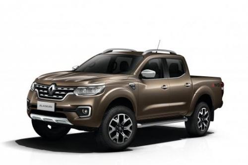 Renault revela picape global Alaskan de 1 ton…