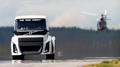 Volvo Iron Knight: O caminhão mais rápido do …