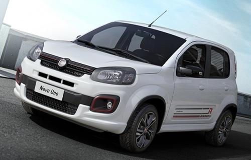 Fiat Uno 2017 chega em setembro renovada e co…