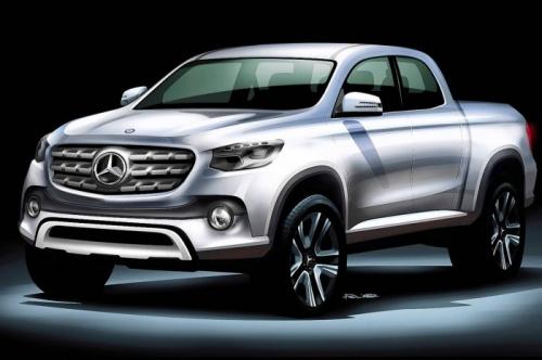 Picape Mercedes-Benz será apresentada oficial…