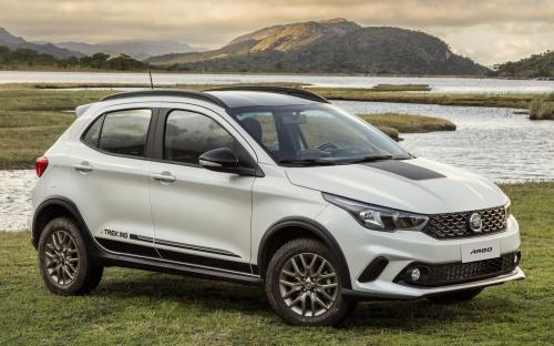 "Fiat Argo Trekking é a versão ""aventureira"" d…"