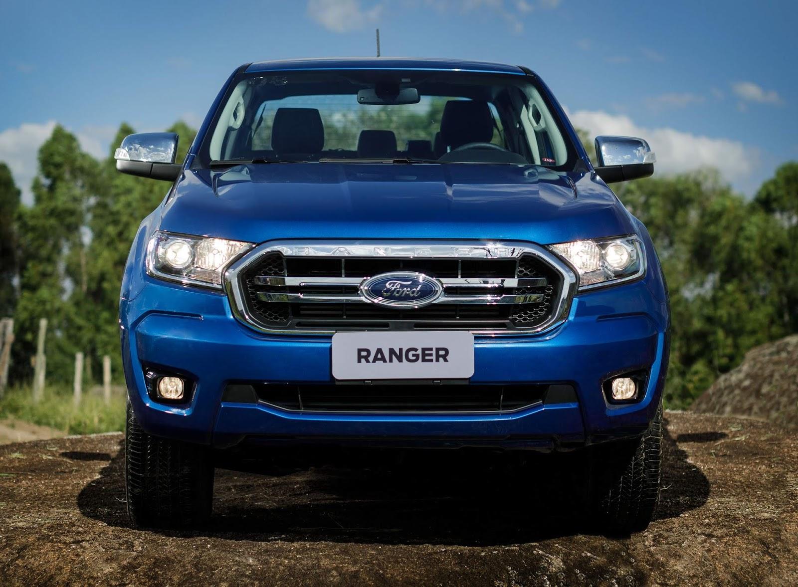 ford ranger 2020 chega com mudan u00e7as pontuais e s u00f3 com motor  u00e0 diesel  u2013 carpoint news