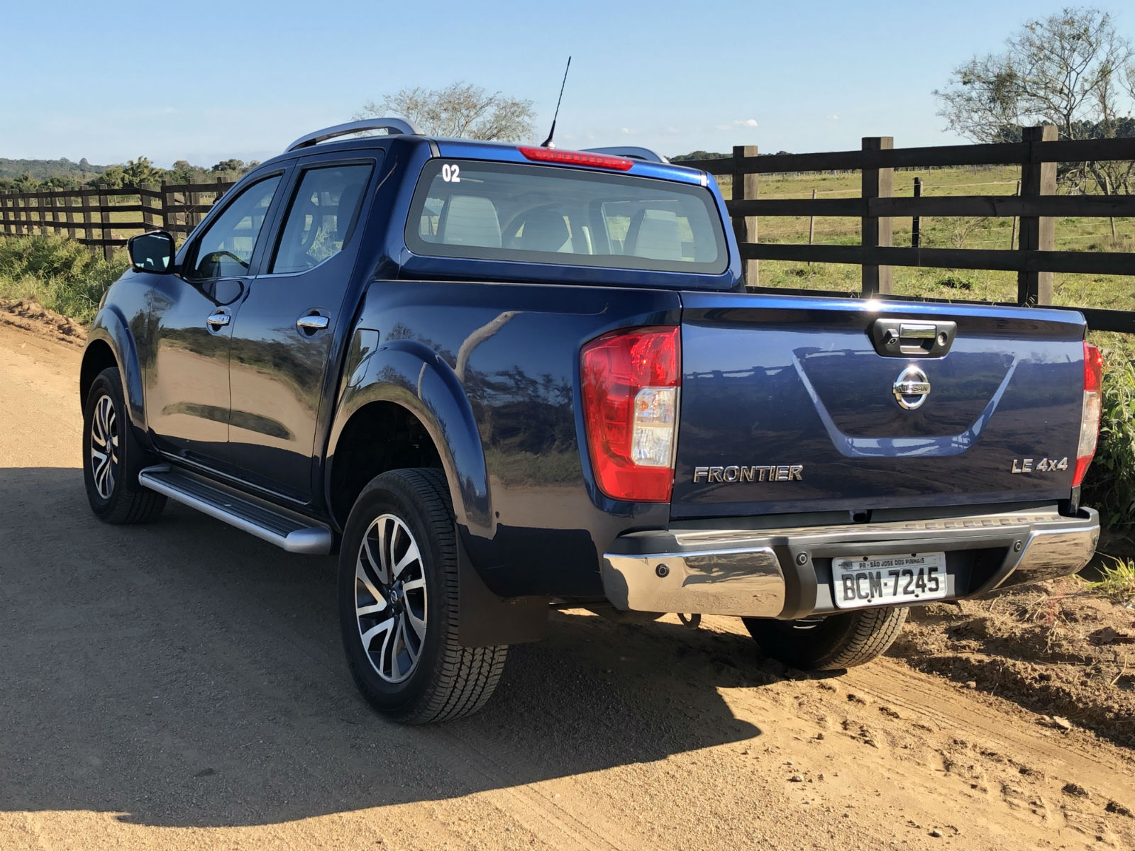 Avaliacao Nissan Frontier Le Bi Turbo Diesel 4x4 Aut 2019 Carpoint News